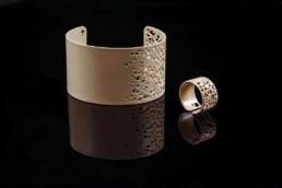 jewellery beige bangle bracelet ring armreif designerschmuck
