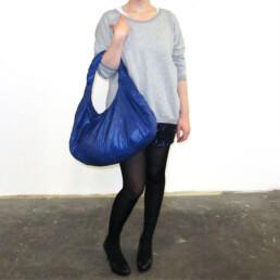 ultralight durable shoulder bag purse blue tasche designer handtasche
